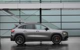 Mercedes-AMG GLA 45 S 2020 official press images - static side