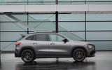 Mercedes-AMG GLA 45 S 2020 official press images - static side