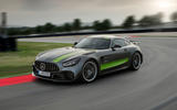 Mercedes-AMG GT R Pro 2018 LA motor show reveal - track front