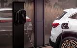 88 Mercedes Benz EQA official images charging port