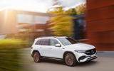 88 Mercedes Benz EQB 2021 official images tracking front