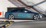 88 Mercedes Benz EQS prototype ride 2021 static side