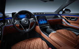 2021 Mercedes-Benz S-Class official reveal images - dashboard