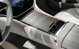 88 Mercedes EQS official reveal images centre console