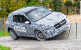 Mercedes-Benz GLA prototype ride 2019 - two wheels up
