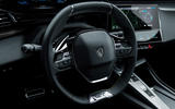 88 Peugeot 308 2021 official reveal images steering wheel