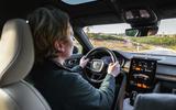 2020 Polestar 2 prototype drive - Richard Lane driving