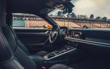 2019 Porsche 911 Carrera S track drive - cabin