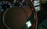 Porsche 911 Cyberpunk 2077 tie-in - steering wheel