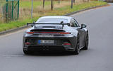 Porsche 911 GT3 prototype at Nurburgring - rear