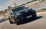 88 Porsche Cayene Turbo Coupe prototype 2022 track front