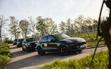 88 Porsche Macan GTS 2021 prototype drive static