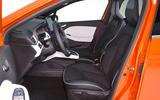 Renault Clio 2019 Autocar studio static - front seats