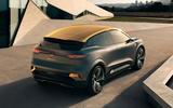Renault Megane eVision concept official images - static rear