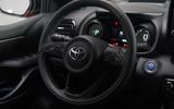Toyota Yaris 2019 official studio - steering wheel