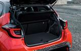 2020 Toyota Yaris prototype drive - boot