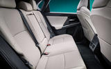 88 Toyota ZEV concept official reveal rear seats