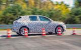 Vauxhall Corsa 2019 prototype drive - cones
