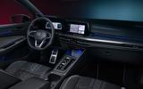 Volkswagen Golf Estate Mk8 studio - infotainment