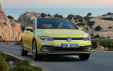 2020 Volkswagen Golf Mk8 official press - on the road front
