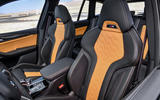 BMW X3M official press - seats