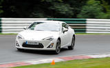 Toyota GT86 2011 - tracking front