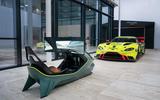 89 Aston Martin AMR C01 simulator tested with car