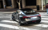 Audi E-tron GT concept 2020 prototype first drive review - cornering rear