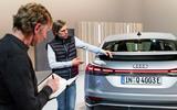 89 Audi Q4 etron 2021 official reveal rear lights