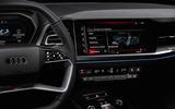 89 Audi Q4 Etron 2021 prototype drive infotainment