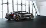 Audi R8 V10 Decennium official press images - static rear