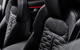 Audi RS Q8 2020 official reveal photos - front seats