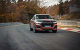 Audi RS Q8 2020 camo ride - track