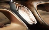 Bentley EXP 100 GT Concept official images - wood detail