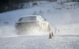 Bentley Flying Spur 2020 development ride - cones rear