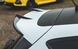 Britain's best affordable drivers car 2020 - Fiesta Mountune - rear spoiler