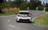 BMW 1 Series 128ti prototype 2020 first drive review - on the road rear
