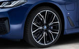 BMW 530e 2020 facelift official images - alloy wheels