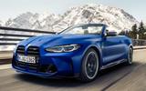 89 BMW M4 Convertible 2021 official reveal on road