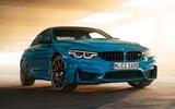 BMW M4 Edition M Heritage official press - Laguna Seca