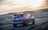 89 BMW X3 M 2021 LCI official images road rear