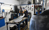 89 British Motor Heritage factory visit 2021 panel beaters