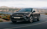 89 Citroen C5X official reveal images cornering