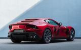 Ferrari Omologata official images - studio rear