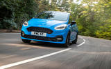 Ford Fiesta ST Edition 2020 official announcement - on the road front