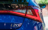 Hyundai i20 2020 prototype drive - rear lights