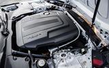 Jaguar F-Type rally car 2019 driven engine
