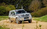2020 Land Rover Defender prototype ride - cornering left