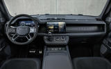 89 Land Rover Defender V8 2021 official images dashboard