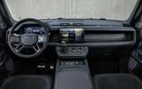 89 Land Rover Defender V8 2021 official images dashboard